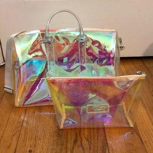 Holo Iridiscent Shoulder/ Tote/Satchel style Bag